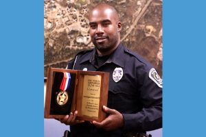 Ray Oliver officer of the year